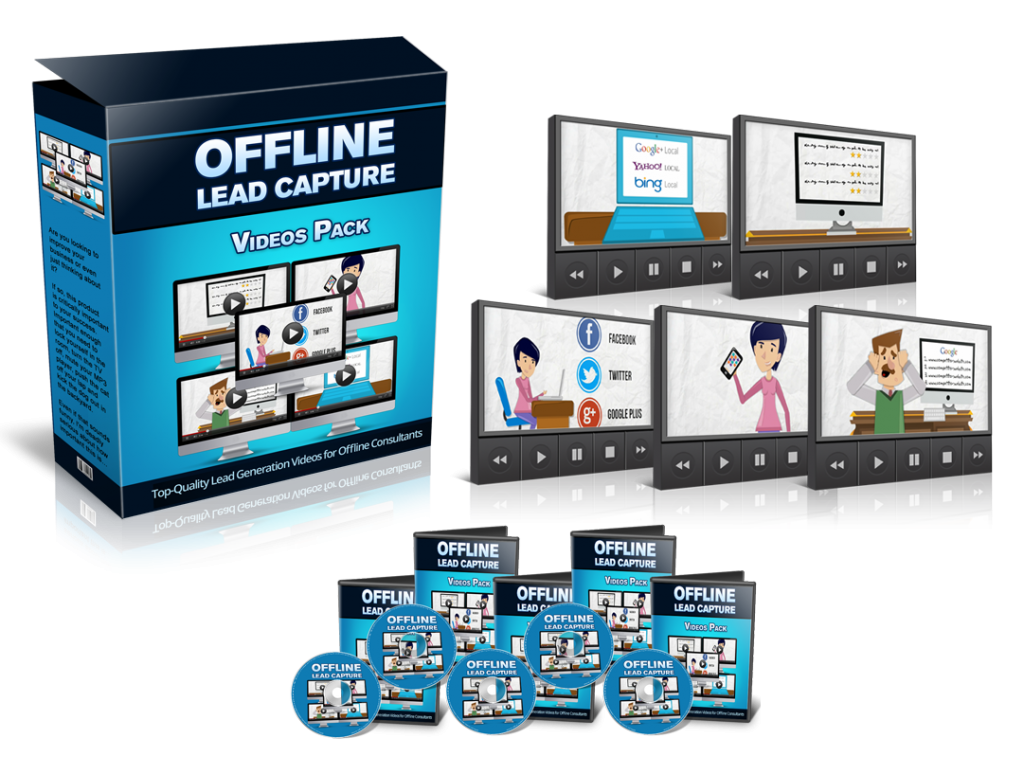 offline lead capture sales image
