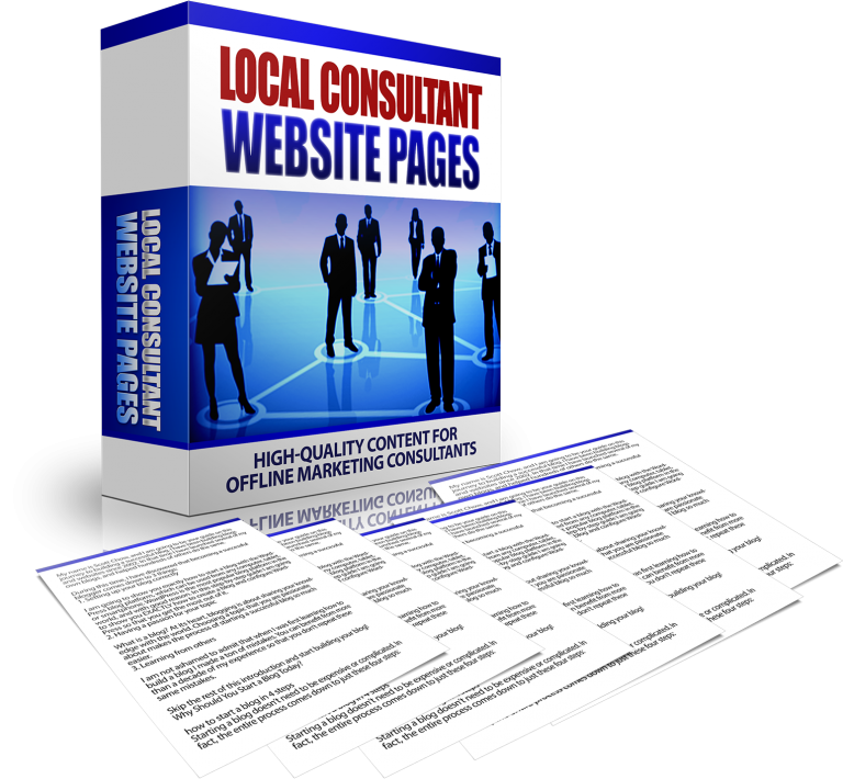 local-consultant-website-pages