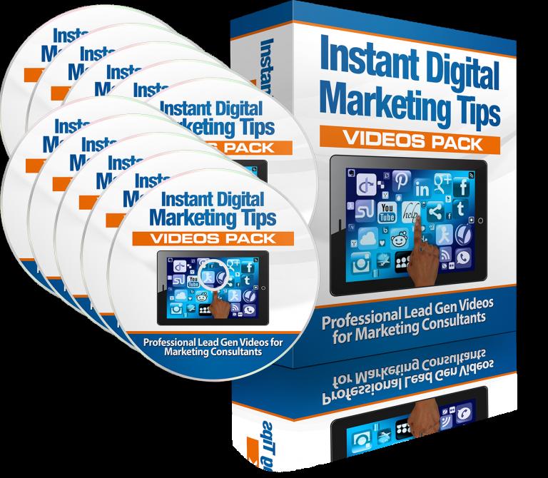 Instant Digital Marketing Tips Videos Pack [Full Package]